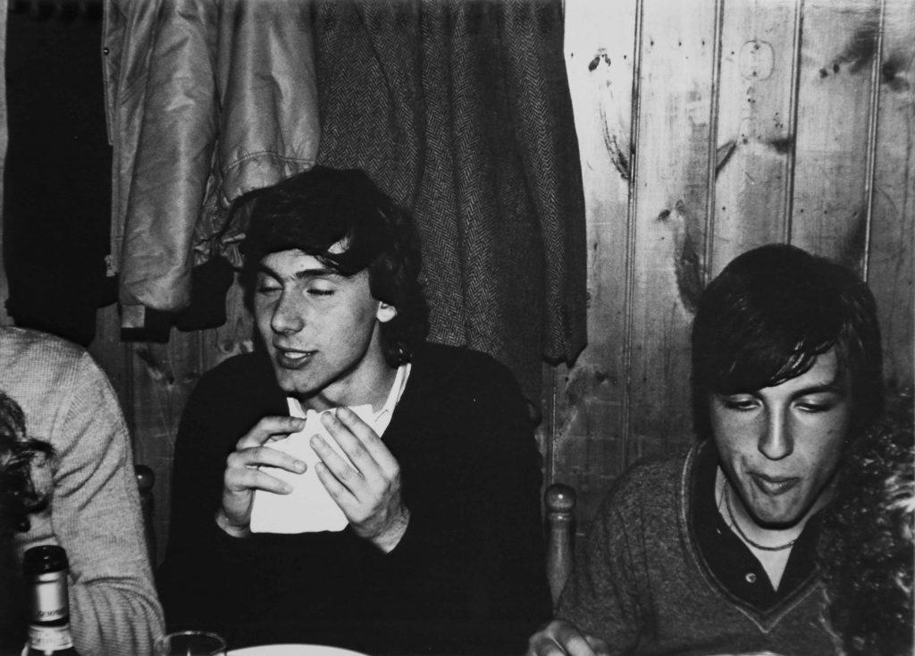Vico Equense, festa per i 18 anni di Gaetano Calì (1978)