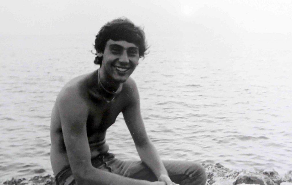Isole Tremiti (1978 – dopo l'esame di maturità), foto di Roberto Chiari