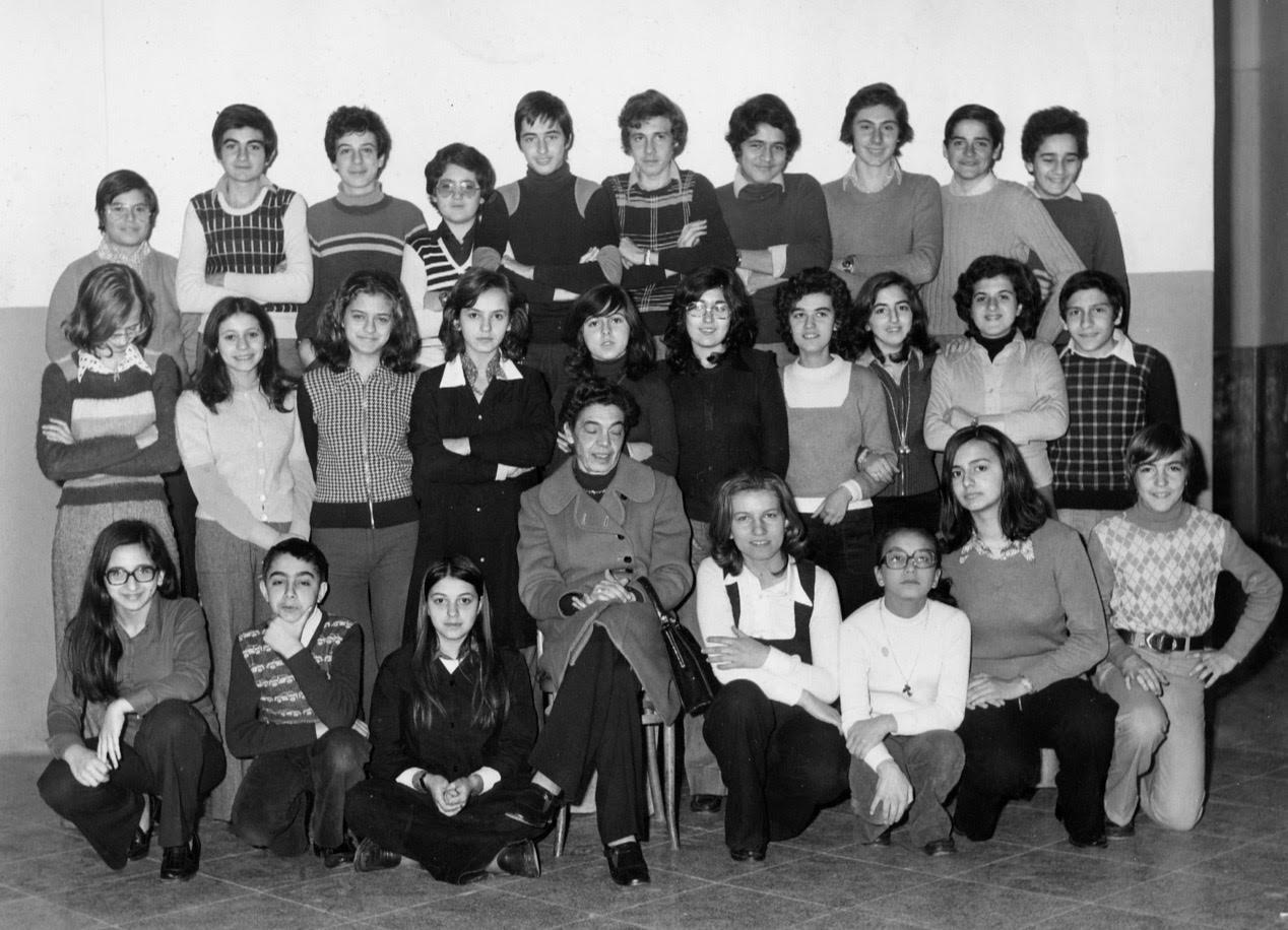 Foto di classe 4^ ginnasio 1973 – 1974