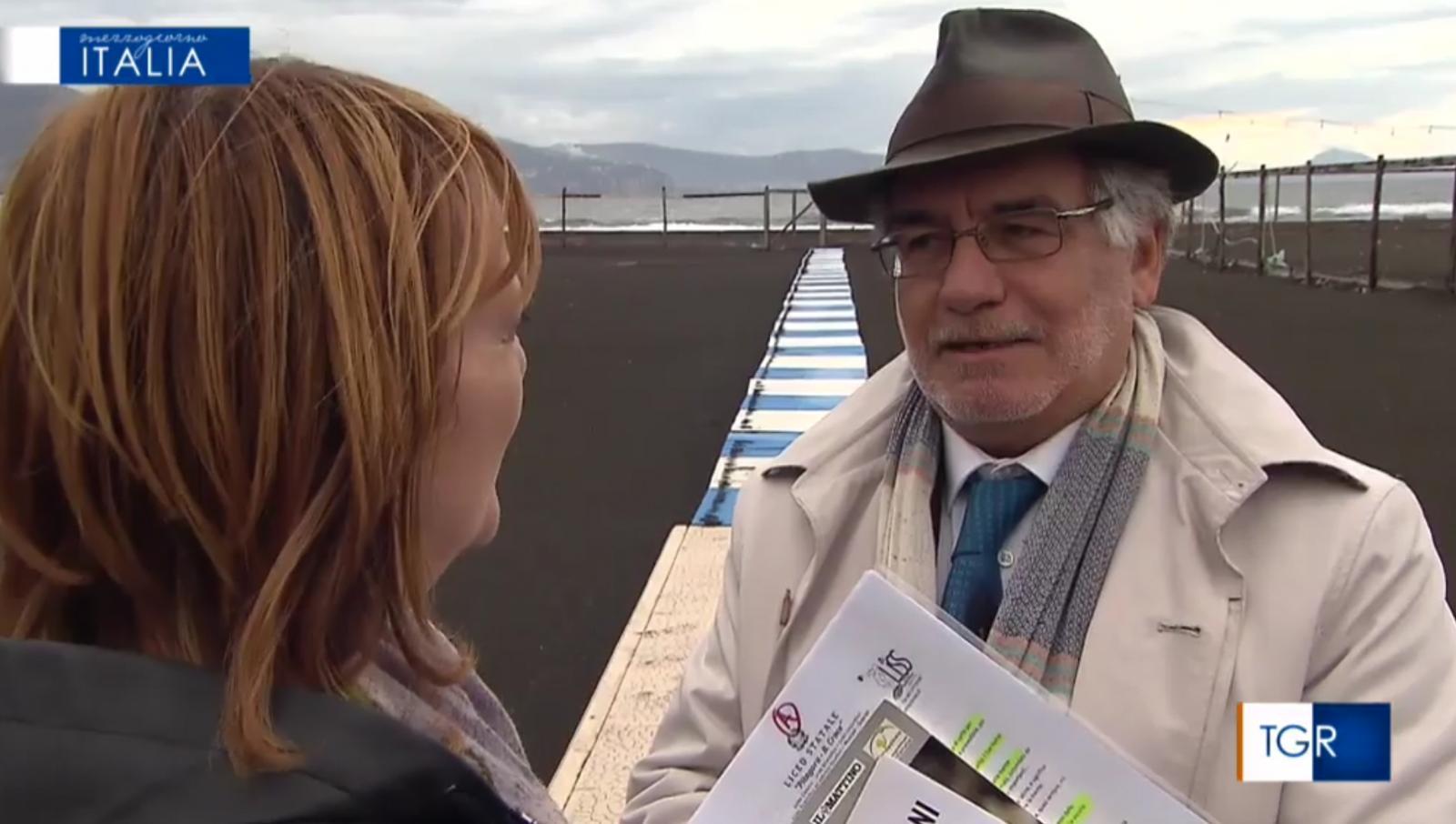 Torre Annunziata,  Mezzogiorno Italia Rai3, le interviste