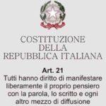 La Fondazione Giancarlo Siani Onlus è dalla parte dei giornalisti liberi. #iostoconverdelli