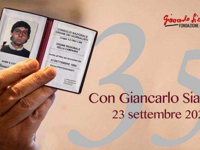 23 settembre 2020 | Giornata con Giancarlo