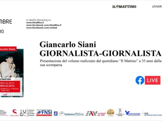 Giancarlo Siani. Giornalista – Giornalista | Presentazione