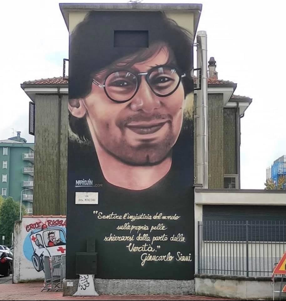 Buccinasco | Rassegna stampa murale dedicato a Giancarlo