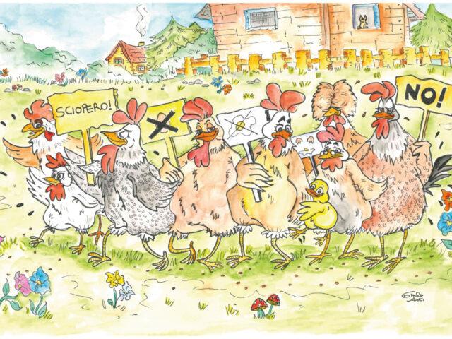 Lo sciopero delle galline di Andrea Satta