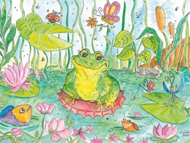 La rana col tappo di Valentina Minzoni
