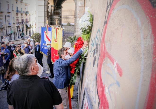 23 settembre 2021 – 36° anniversario omicidio Giancarlo Siani (le foto alle Rampe Siani sono a cura di Newfotosud)